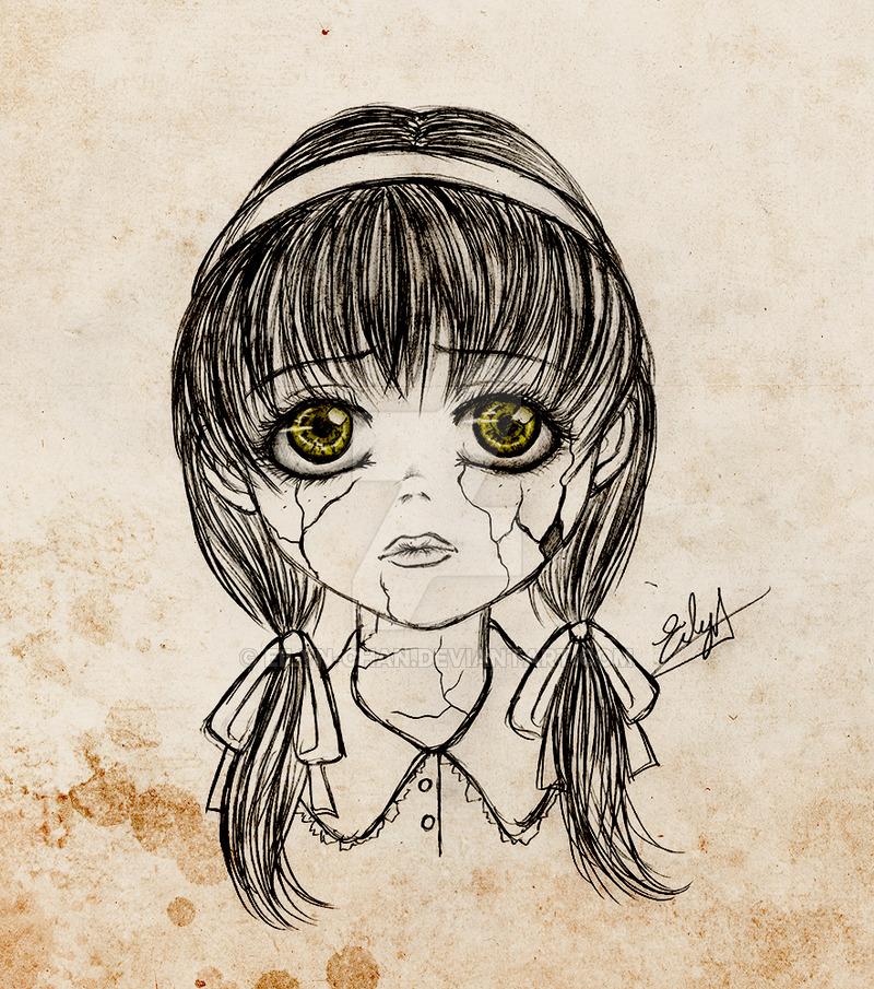800x905 Broken Doll By Eilyn Chan