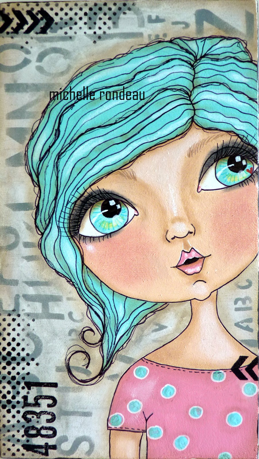901x1600 Doll Face Painting All The Pretties Doll Face