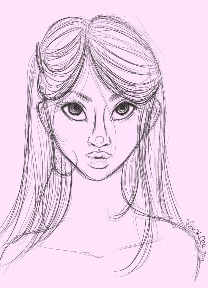 700x969 Sketchdollface Darling 032011 By Sugarhighstudios