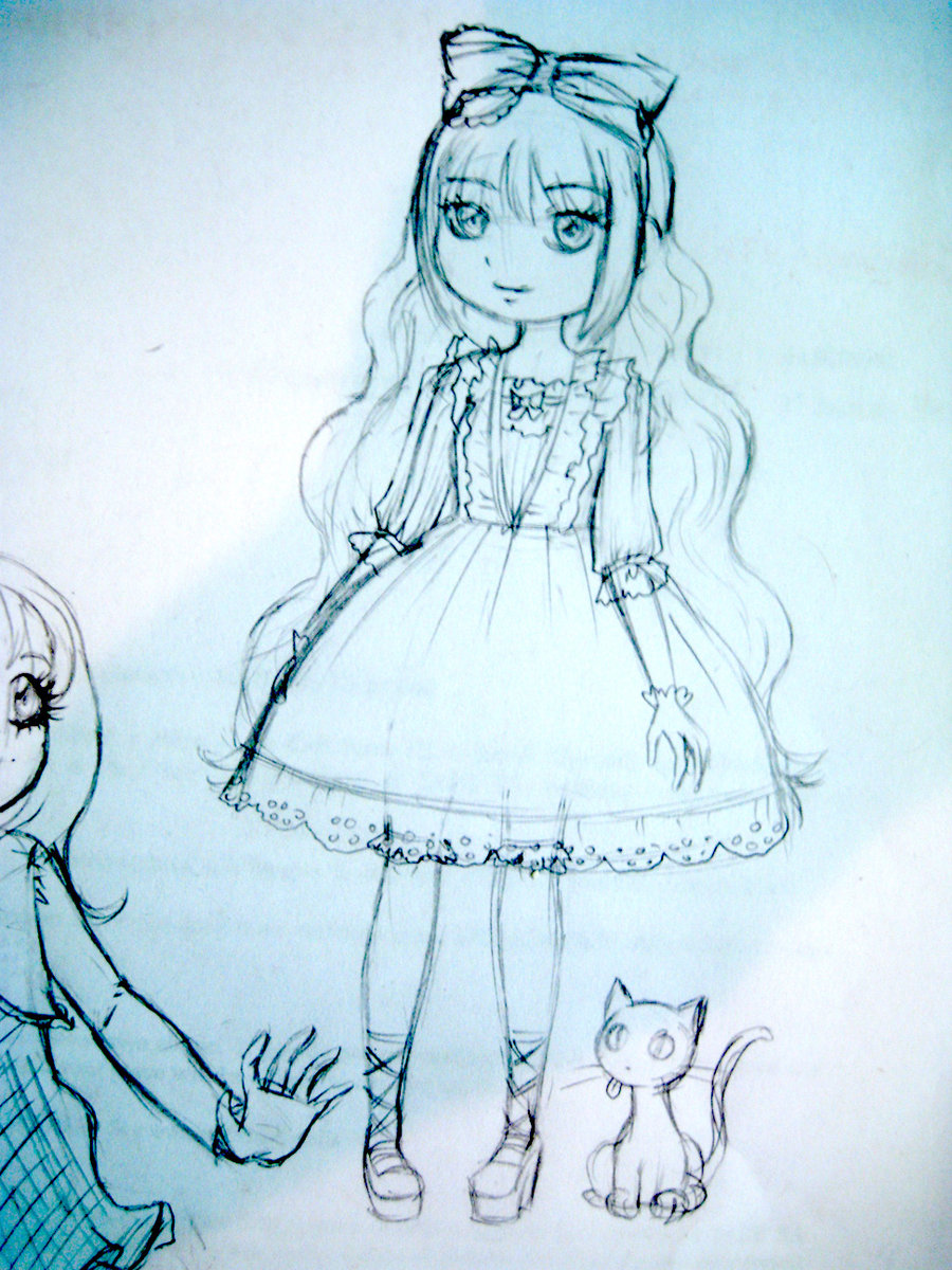 900x1200 Cute Doll Images For Drawing