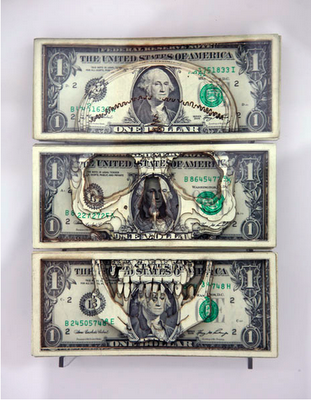 311x400 101 Unusual, Impressive And Illegal Pieces Of Defaced Currency