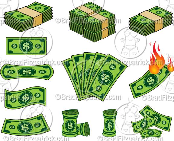 576x469 Cartoon Dollar Bill Clip Art Dollar Bill Clipart Graphics
