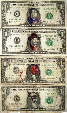 275x465 Dollar Bill Drawing. Dollar Bill Y'All Art