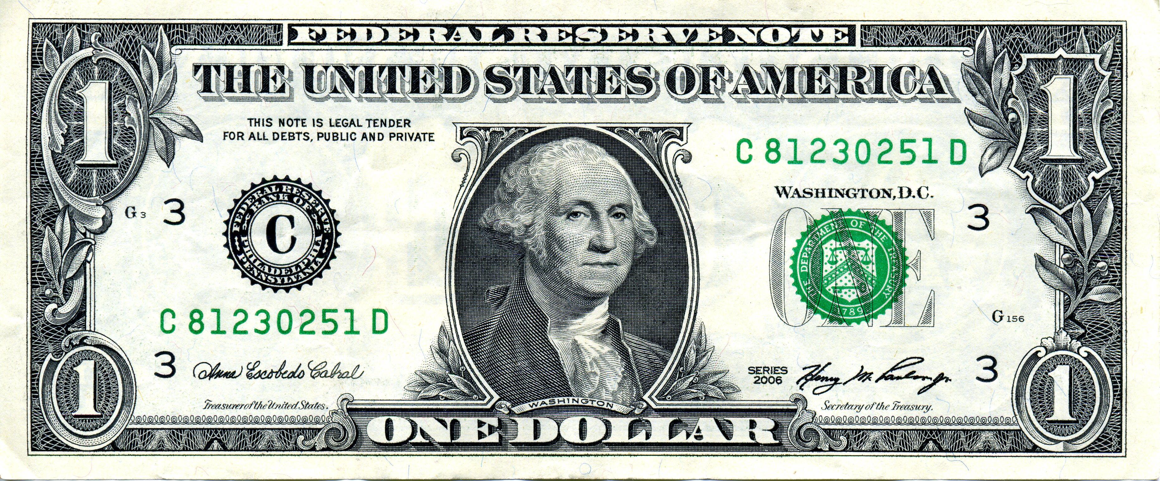 3723x1545 Drawing Of Dollar Bill