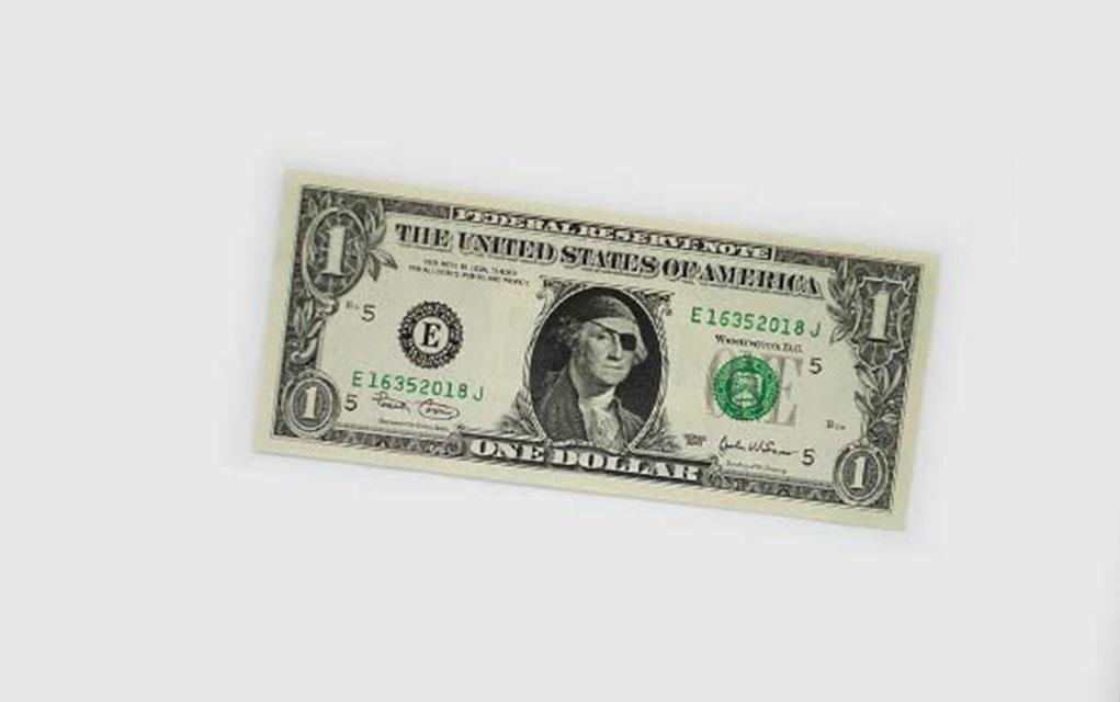 1021x640 Dollar Bill Art Makes It Worth More Than A Dollar