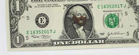 450x178 One Dollar Bill Art