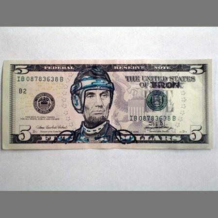 450x450 World's Coolest Dollar Bill Drawings
