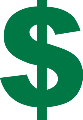 276x400 Currency Dollar Sign
