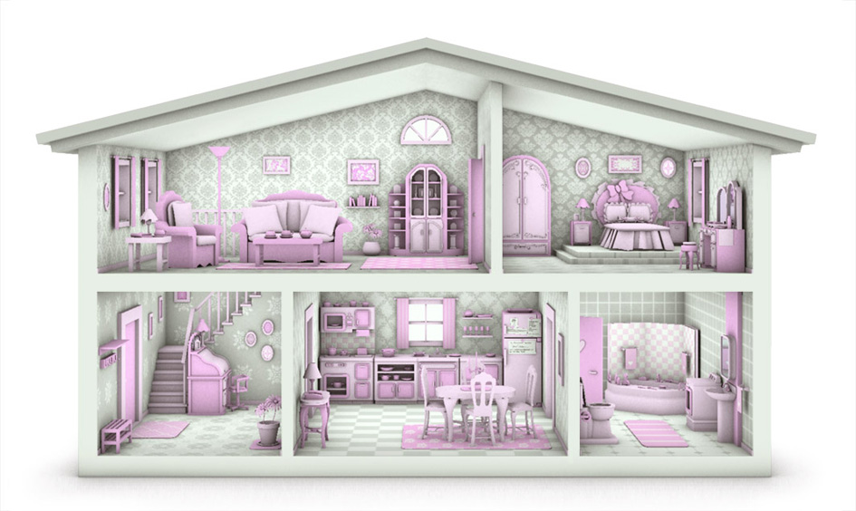 945x564 Dollhouse By Caillu