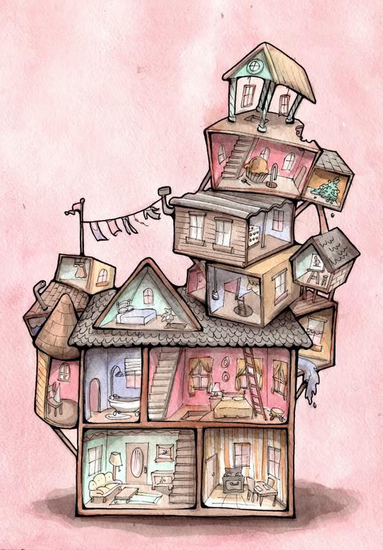 557x800 Pin By Diana Dobbins On House Cutaways Cutaway, Doll