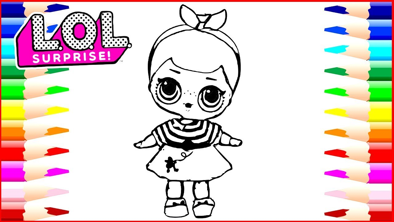 1280x720 How Draw Lol Surprise Dolls Coloring Page Drawing Pages