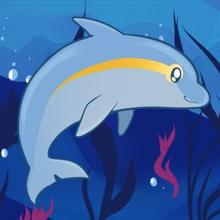 220x220 How To Draw How To Draw A Dolphin For Kids