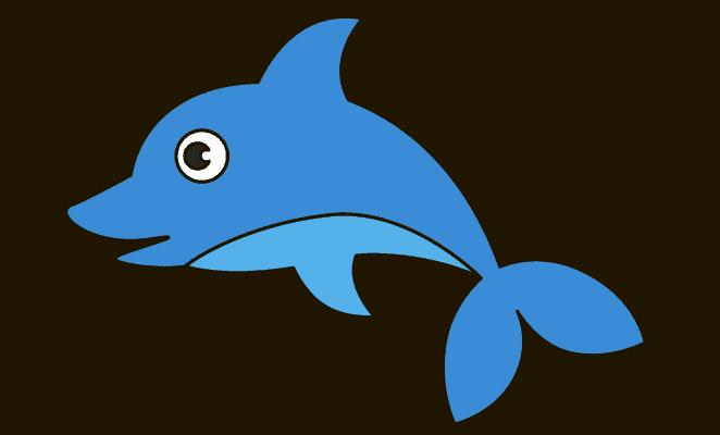 662x400 Photos Cartoon Drawings Of Dolphins,