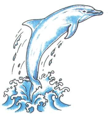 351x377 Dolphin Jumping Out Of Water Tattoo Tattoo Tattoo