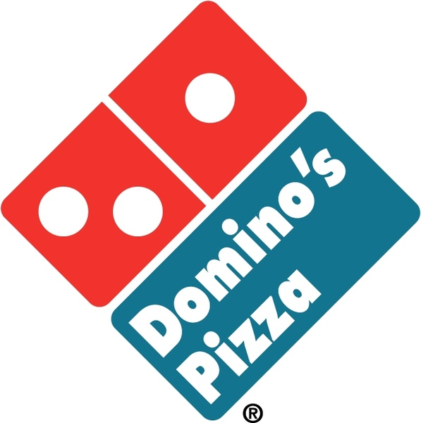 597x600 Dominos Pizza 2 Free Vector In Encapsulated Postscript Eps ( Eps
