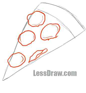 346x377 How To Draw A Pizza Draw Something Pizza By Dominos Draw On Pizza