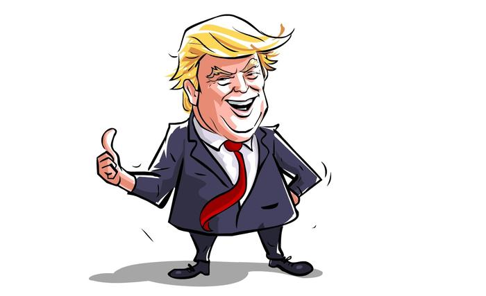 700x427 How To Draw A Caricature Using Adobe Flash Cs6 Donald Trump
