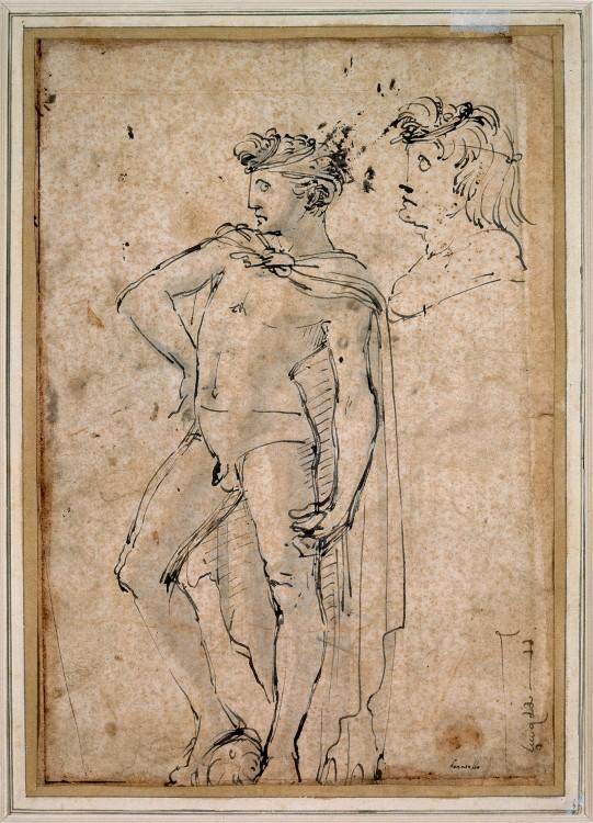 541x750 David, Donatello, Ca1450, Pen And Brwon Ink On Paper, 288x204mm