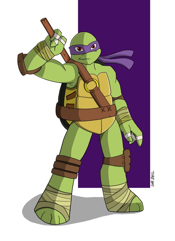 600x826 Donatello Tmnt And Usagi Tmnt