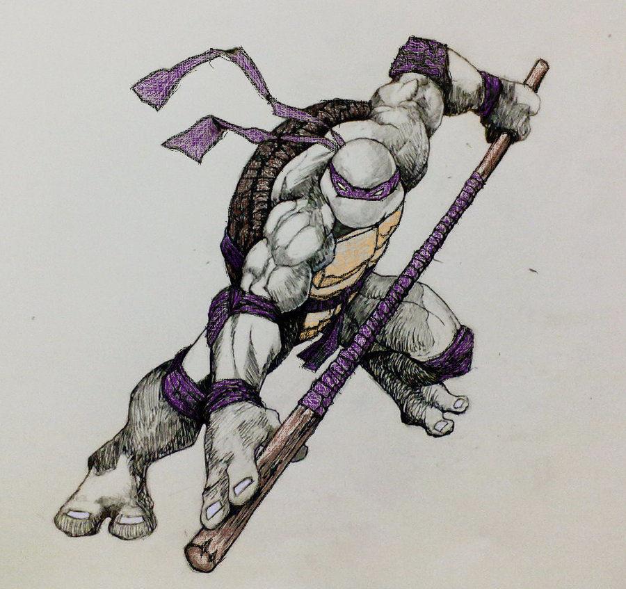 900x847 Donatello Sketch