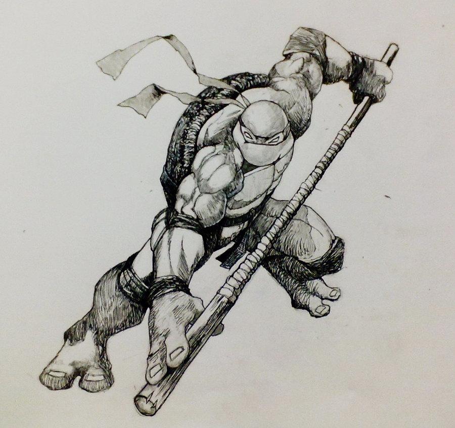 900x847 Donatello By Zombiraptor