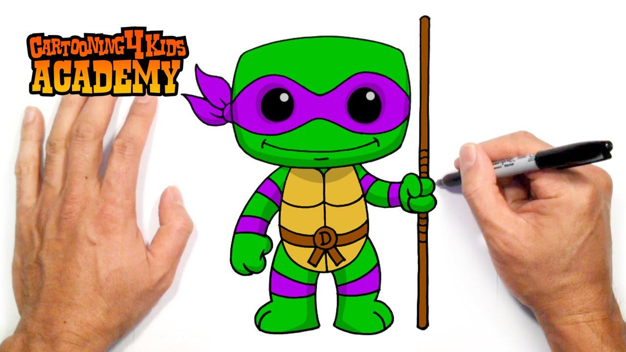 1280x720 How To Draw Donatello Tmnt (Beginners Art Tutorial)