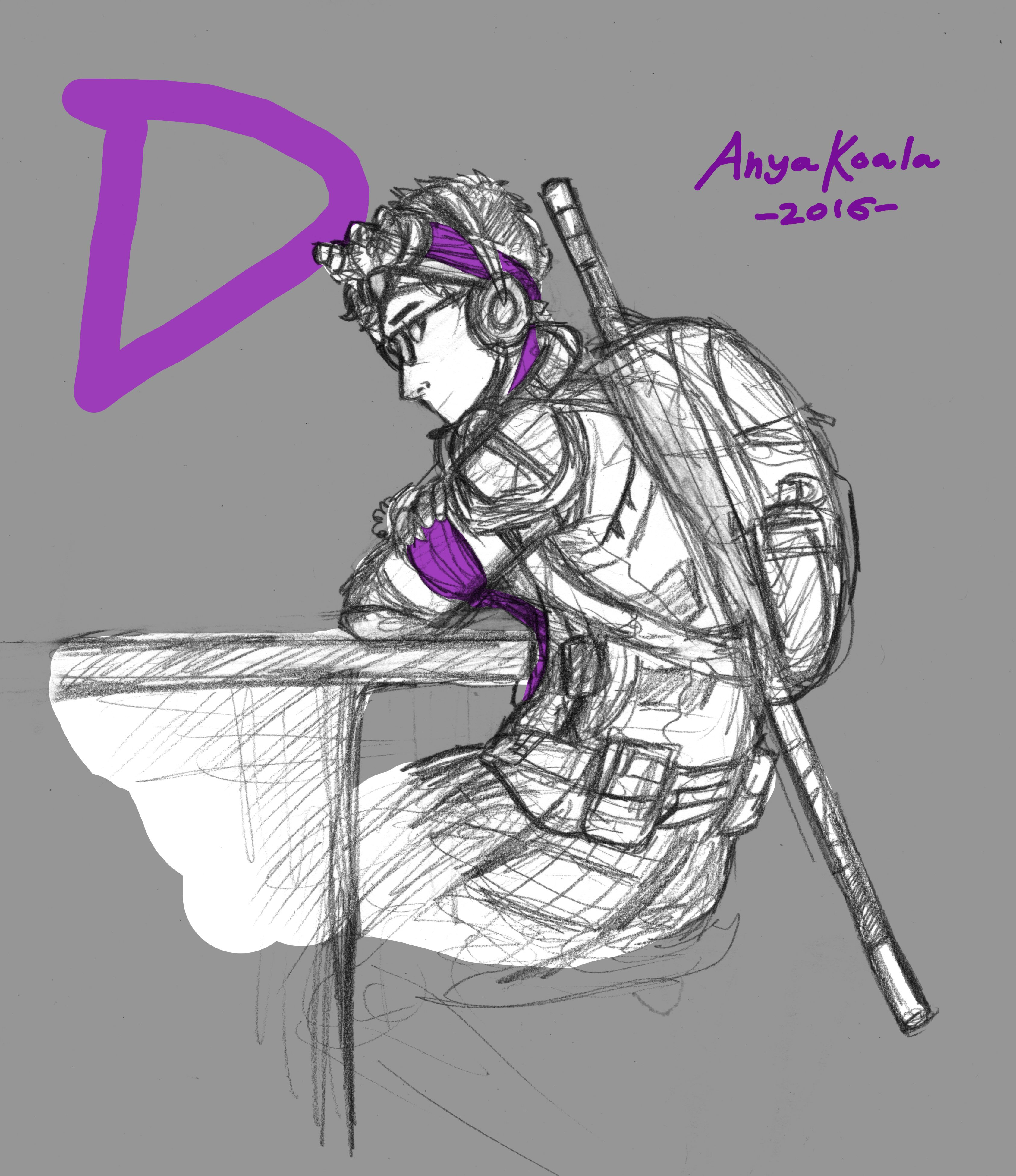 3371x3902 Human Donatello. Human Design. Anya Koala. Nickelodeon. Donnie