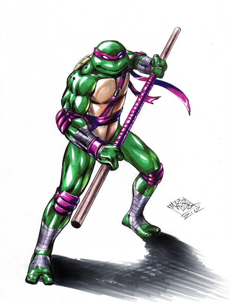 779x1026 Tmnt Donatello Color By Matiassoto