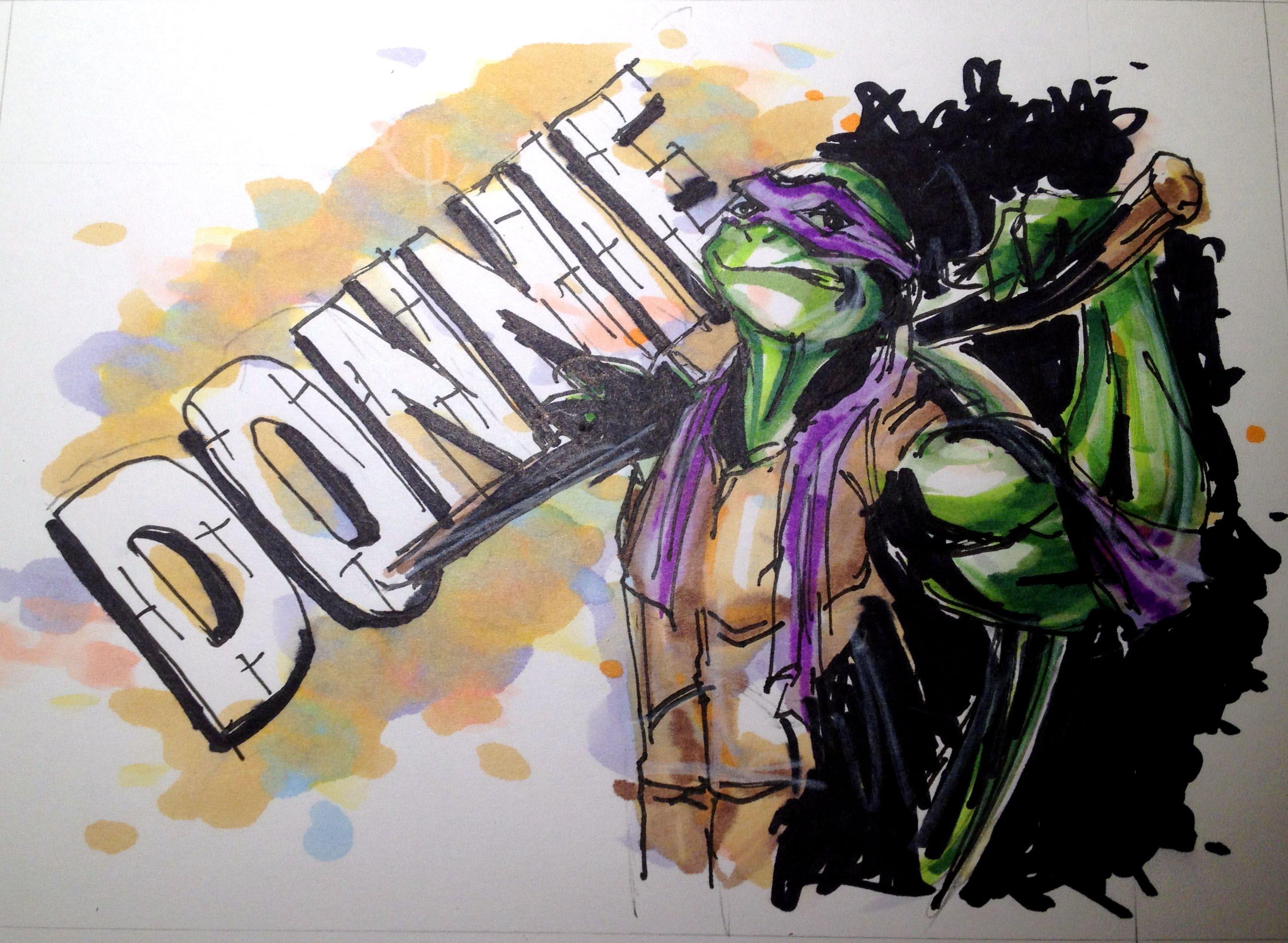 2685x1965 Teenage Mutant Ninja Turtles (Tmnt) Series Donatello