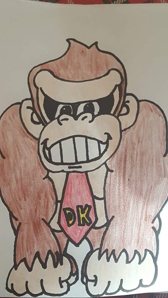 576x1024 Donkey Kong Drawing Mario Amino