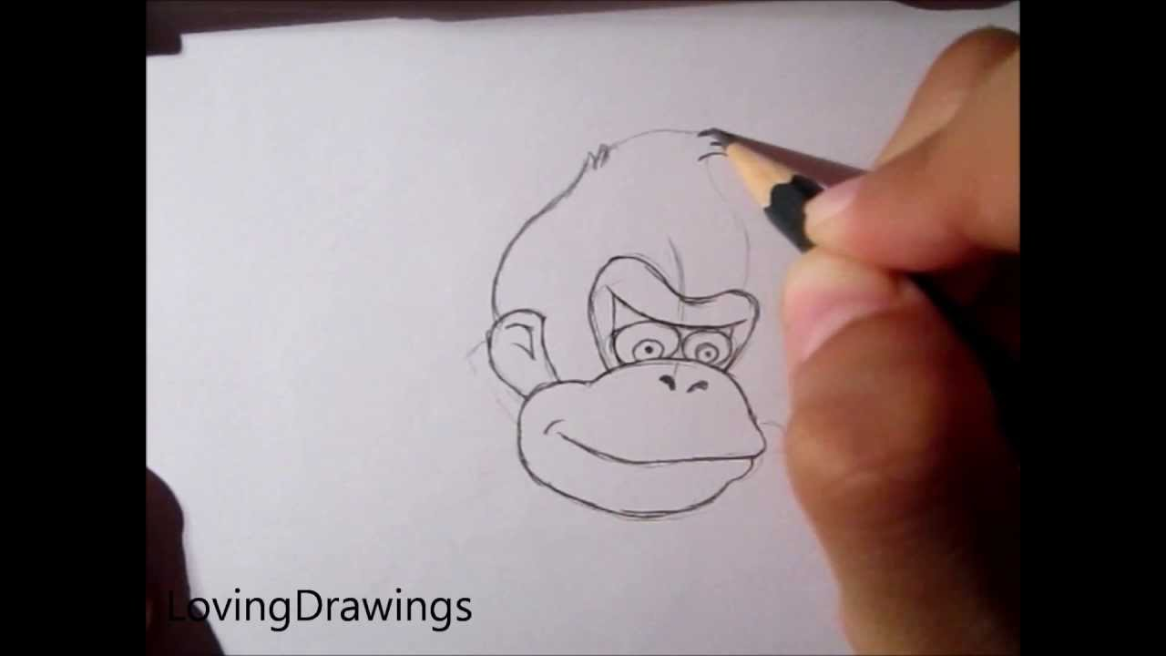 1280x720 Learn To Draw Donkey Kong (Request)