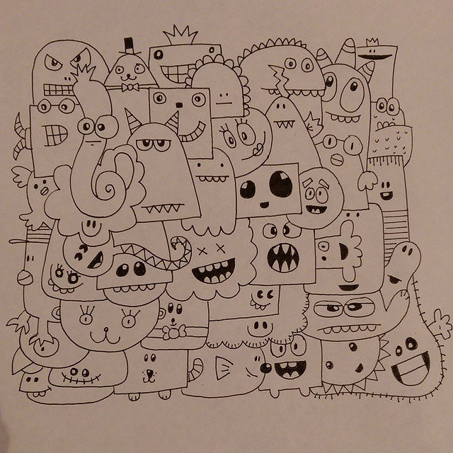 640x640 Doodles, Just Doodles