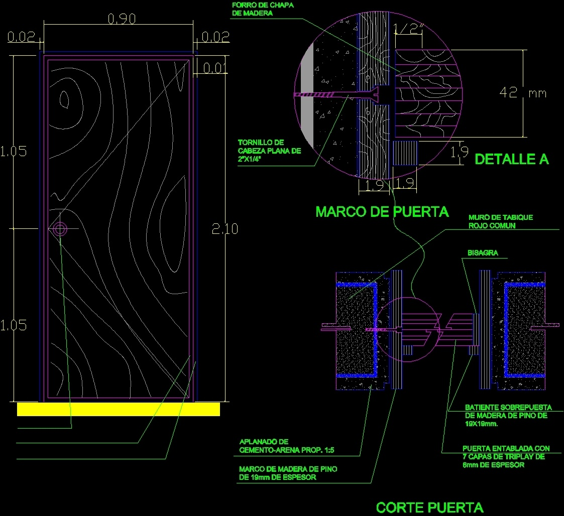 1123x1028 Wood Door Details Dwg Detail For Autocad â Designs Cad