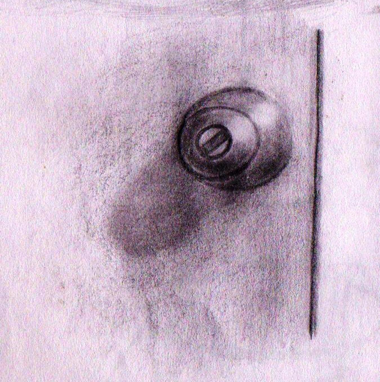 1350x1360 Drawing Door Knob Realistic Practice D5tsxec Imaginative