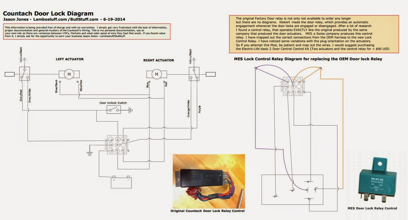 Door Lock Drawing At Free For Personal Use Locks 2002 Power System Wiring Diagram A 1421x767 Countach