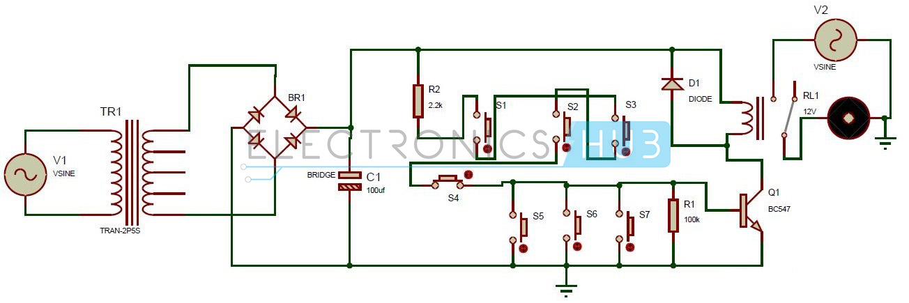 1304x435 Transistor Electronic Code Lock System Circuit Diagram: BMW E46 Door Lock Wiring Diagram At Anocheocurrio.co