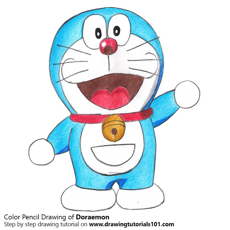 How To Draw Nobita And Shizuka Learn Colors For Children Best