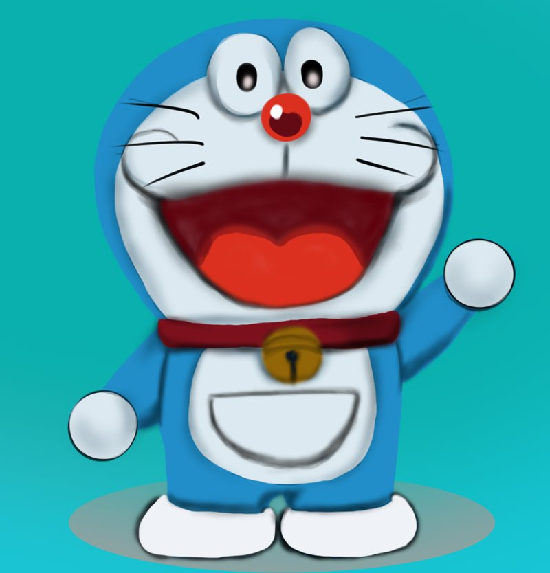 800x834 Learn How To Draw Doraemon (Doraemon) Step By Step Drawing Tutorials