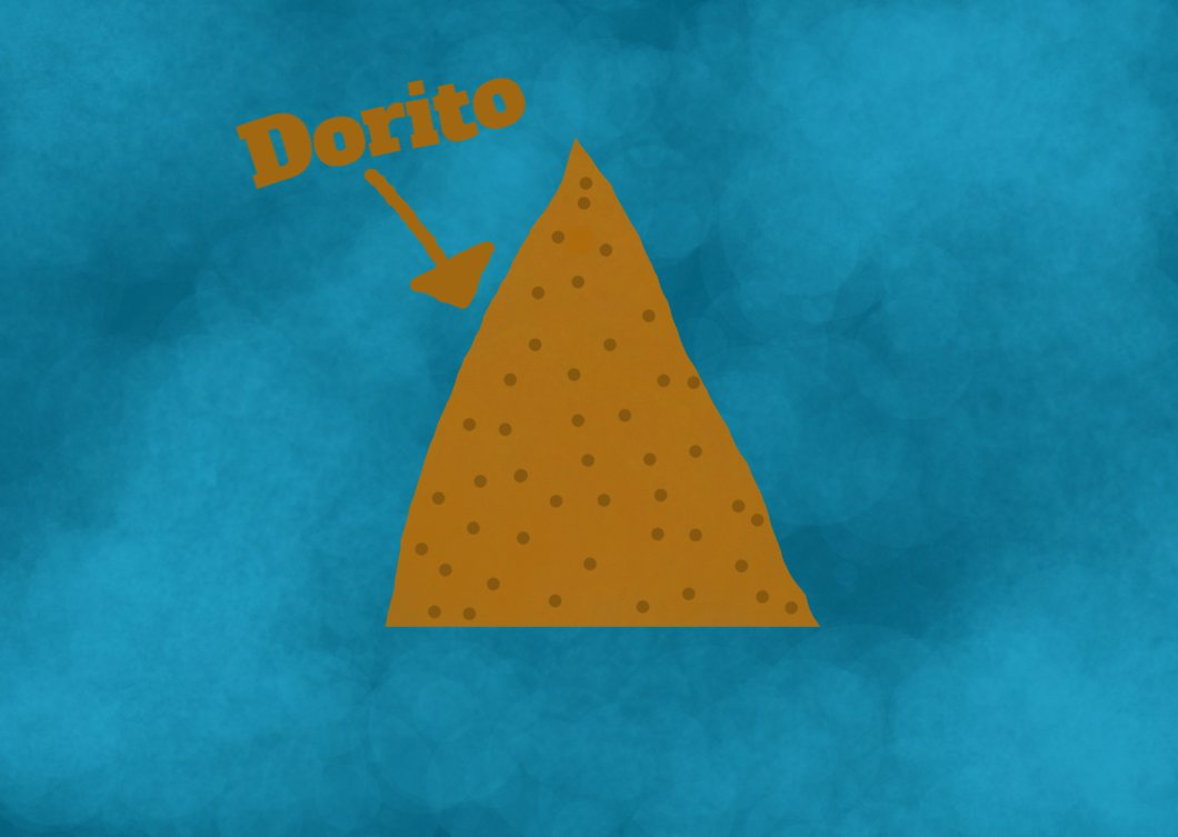 1060x753 Dorito Drawing By Cyancube The Cube