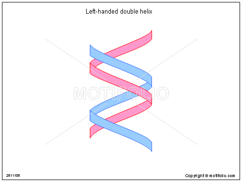 500x375 Left Handed Double Helix Illustrations