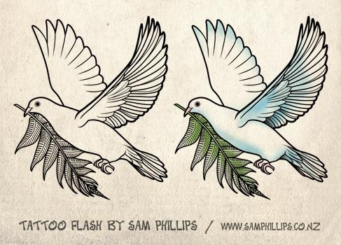 Dove drawing tattoo at getdrawings free for personal use dove 487x350 flying dove tattoo design voltagebd Images