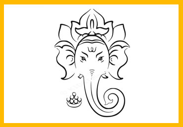 370x257 Free Lord Ganesha Drawing For Kids. Download Lord Ganesha Drawings
