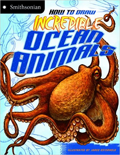388x499 Download E Books How To Draw Incredible Ocean Animals (Smithsonian