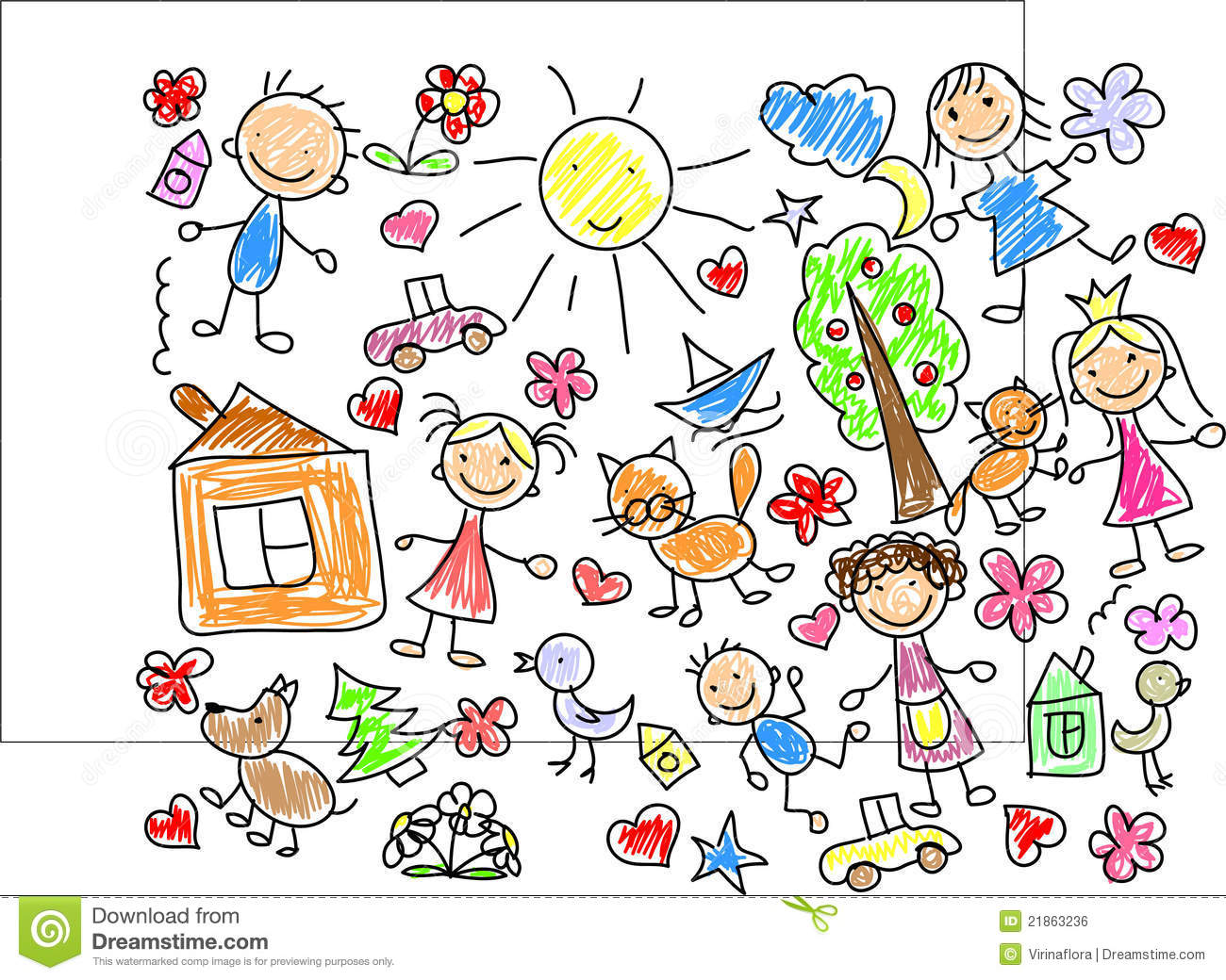 1300x1040 Children Drawings