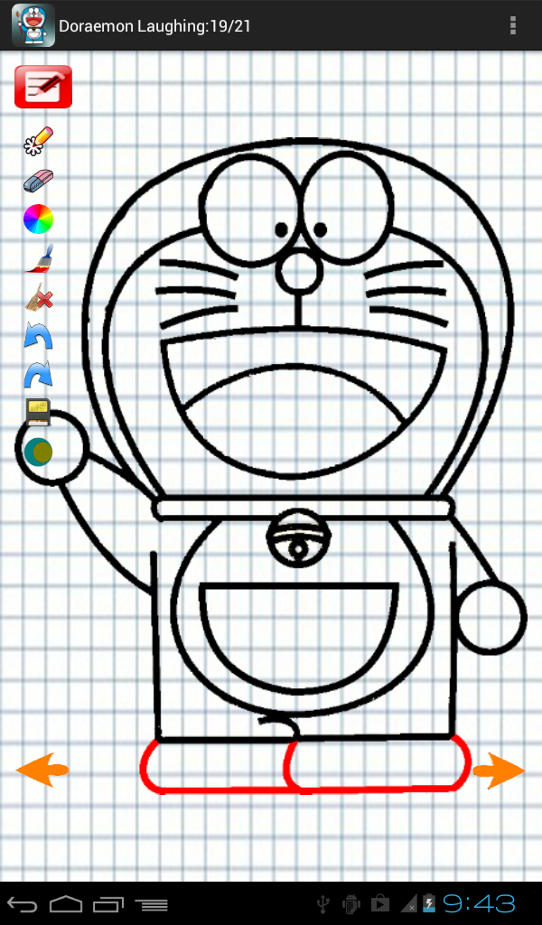 600x1024 Download Drawing Step By Step Doraemon For Android, Drawing Step