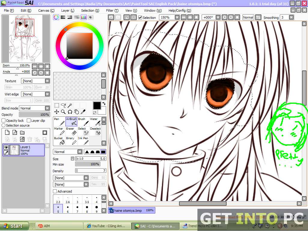 1025x770 Paint Tool Sai Drawing Paint Tool Sai Free Download