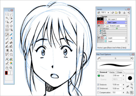 460x324 Free Drawing Tools And Animation Software