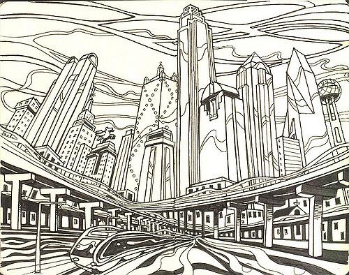 500x394 Downtown Dallas Susan Rudat