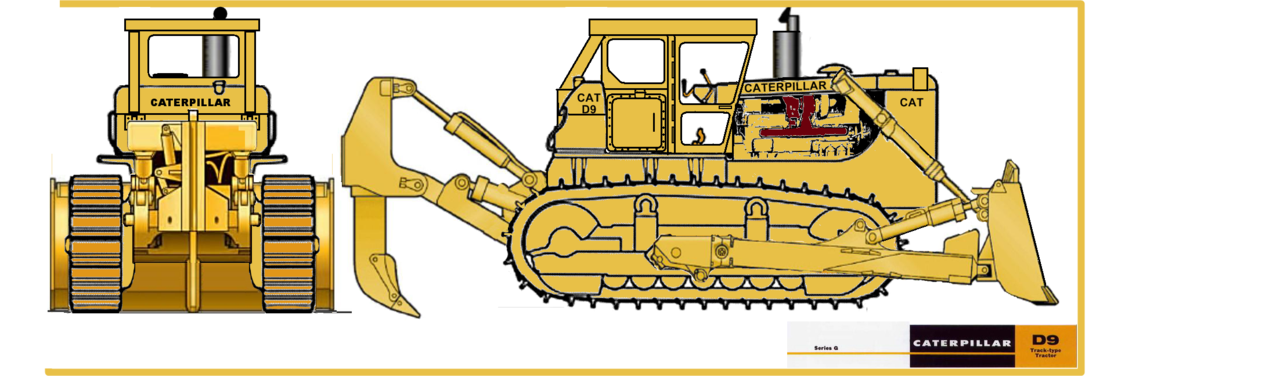 1280x376 Caterpillar D9 By Nightriderlopes