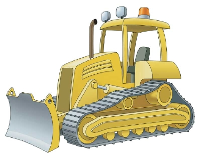 400x315 How To Draw Bulldozers In 11 Steps Howstuffworks